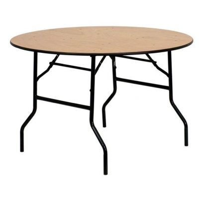Wooden 3ft Round Table