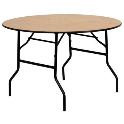 Wooden 4ft Round Table