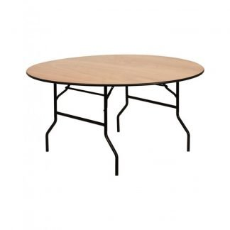 Wooden 5ft 6 Round Table