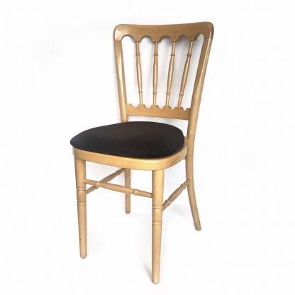 Banqueting Chair Natural Wood