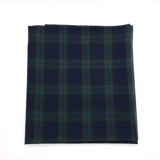 Blackwatch Tartan Linen