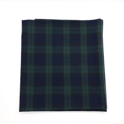 Blackwatch Tartan Linen