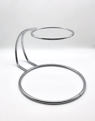 Stainless Steel C Shape Cake Stand