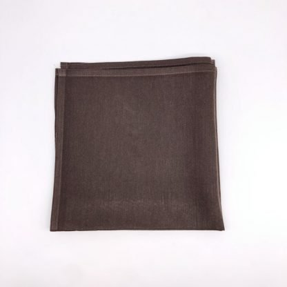 Chocolate Napkin With Rose Pattern