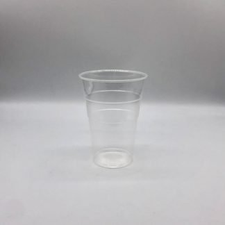 Clear Plastic Pint 25 Pack