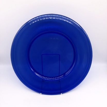 Cobalt Blue Glass Plate