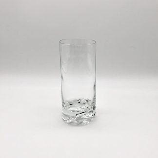 Plain Crystal Tall Tumbler/Slim Jim Heavy Base 12oz