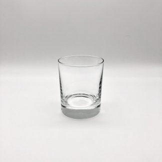 Plain Crystal 8oz Short Glass Tumbler