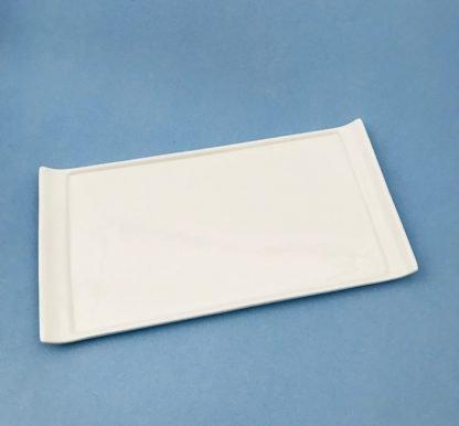 White China Display Plate