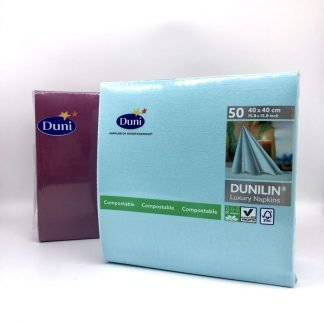 Duni Napkin Pack 50 in Variety of Colours