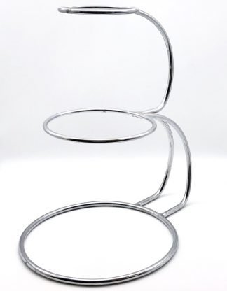Stainless Steel E Shape Cake Stand