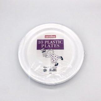 Foam Plates 10 inch 10 Pack