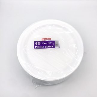 Foam Plates 10 inch 40 Pack