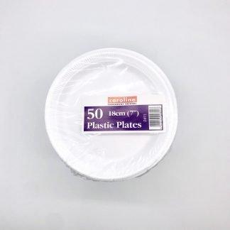 Foam Plates 7 inch 50 Pack