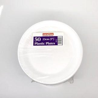Foam Plates 9 inch 50 Pack