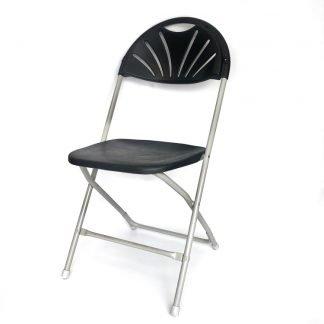 Folding Chair Shaped Back