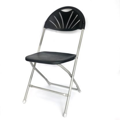 Folding Chair Shaped Back