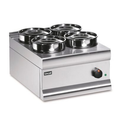 Electric Four Pot Bain Marie (Dry Heat)