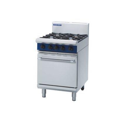 Gas Oven 4 Burner Wheeled