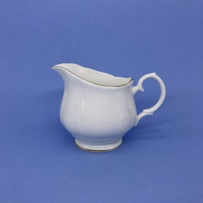 Gold Edge China Cream Jug
