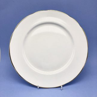 Gold Edge China Dinner Plate