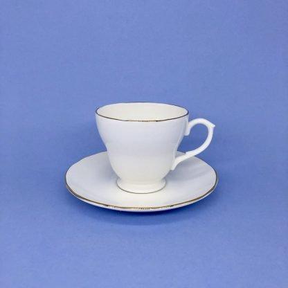 Gold Edge China Tea Cup