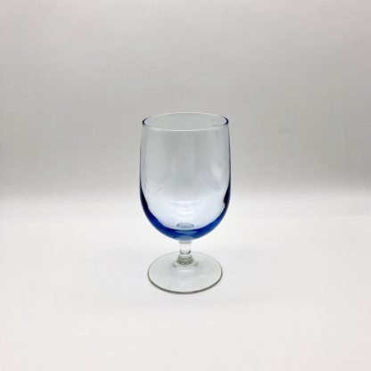 Misty Blue 16oz Stemmed Glass