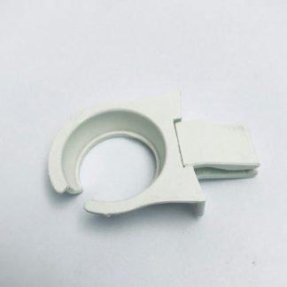 White Plastic Plate Clip