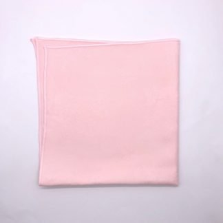 Pink Coloured Linen Napkin With Rose Pattern