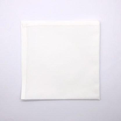 Plain White Linen Napkin