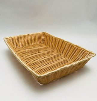 Rectangular Wicker Bread Basket