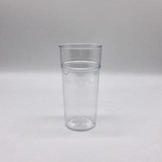 Reusable Plastic Half Pint
