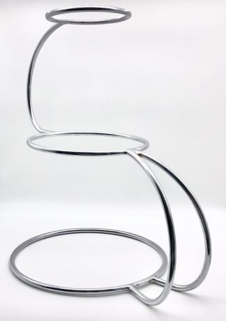 Stainless Steel S Shape Cake Stand