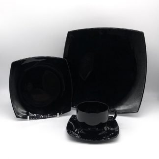 Square Black China