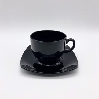 Square Black Tea Cup
