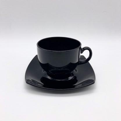 Square Black Tea Cup
