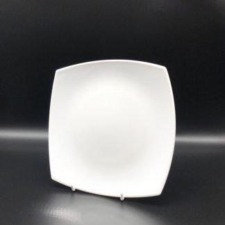 Square White Dessert Plate