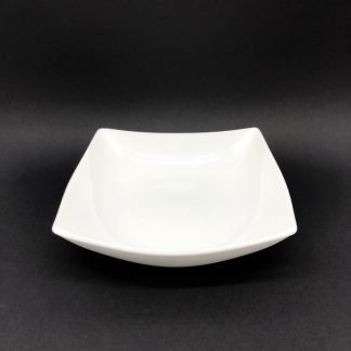 Square White Large Bowl