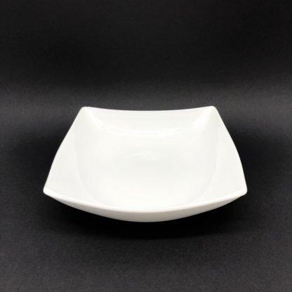 Square White Large Bowl