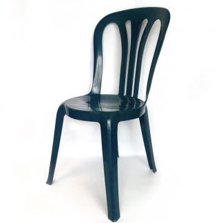 Plastic Stacking Chair Green
