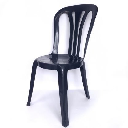 Plastic Stacking Chair Navy