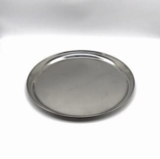 Stainless Steel Round Tray 12 Inch
