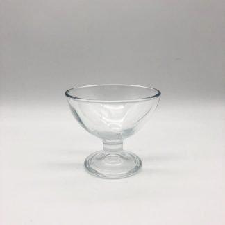 Shallow Style Glass Sundae Dish