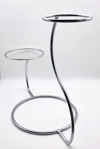 Stainless Steel Swan Shape Cake Stand