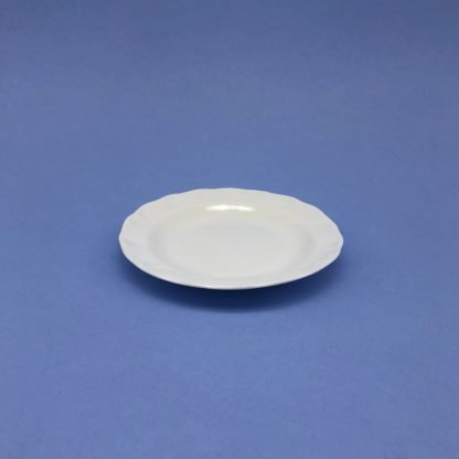 White Bone China Butter Dish