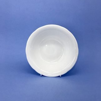 White Bone China Dessert Dish