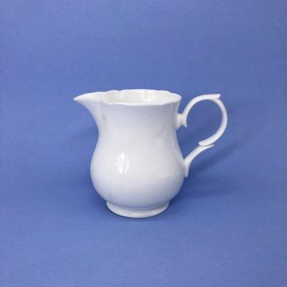 White Bone China Milk Jug