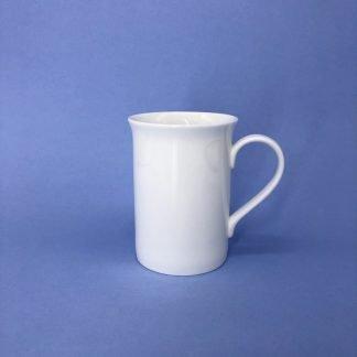 White Bone China Mug