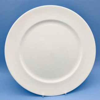 White Bone China Plate 12inch