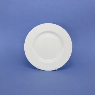 White Bone China Side Plate